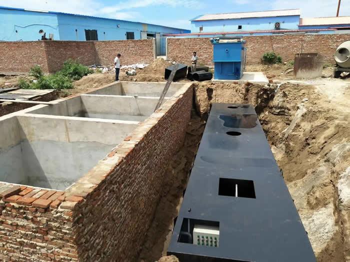 食品厂地埋式污水处理
